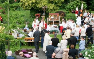 Christus König - Fronleichnam 26.05.2016